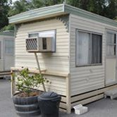 Cabin accommodation in caravan park south adelaide